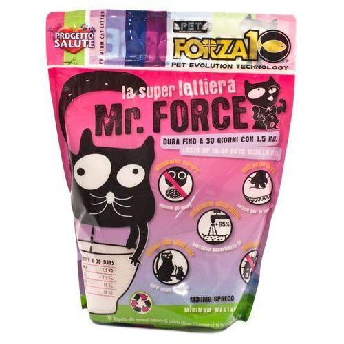 Żwirek silikonowy mrforce bezzapachowy dla kota: waga - 1,5 kg dostawa 24h gratis od 99zł marki Forza10