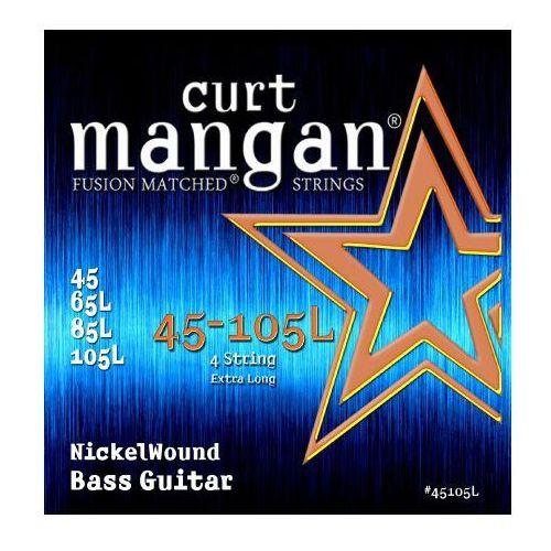 Curt mangan 45-105 nickel bass extra long