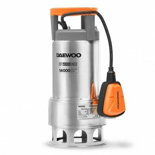Pompa do wody czystej brudnej zanurzeniowa Daewoo DDP 20000 INOX 900W, 4C75-8493D