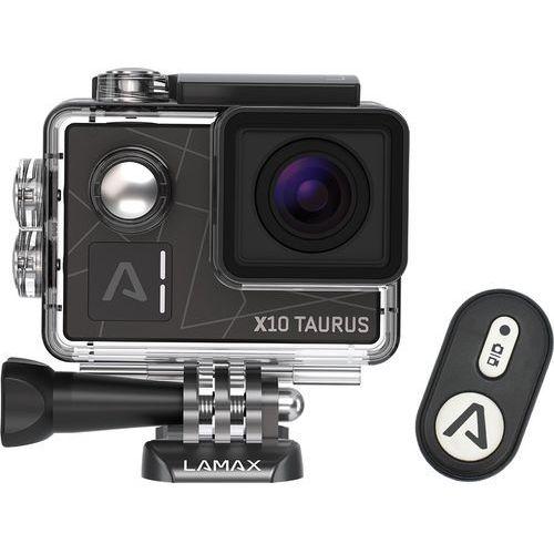 Kamera sportowa x10 taurus + zamów z dostawą jutro! + darmowy transport! marki Lamax