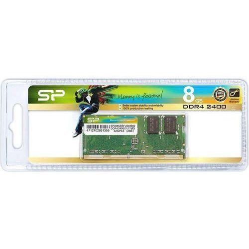Silicon Power DDR4 8GB 2400 CL17 SO-DIMM, SP008GBSFU240B02