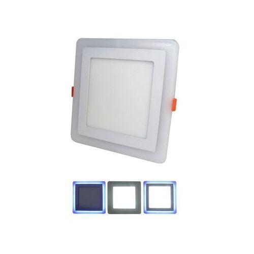 LED Oprawa wpuszczana LED/12W+LED/3W 6000K
