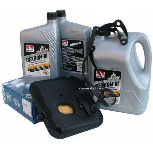 Filtr oraz olej Dextron-VI automatycznej skrzyni biegów 42RL Dodge Nitro 3,7
