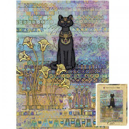 Heye 1000 elementów cats egyptian, jane crowther