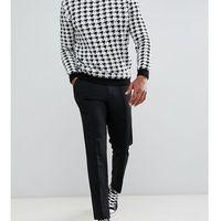 smart tapered fit trouser - black marki Selected homme