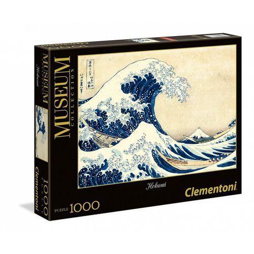 Clementoni 1000 elementów, hokusai, wilka fala w kanagawie (gxp-581286) (8005125393787)