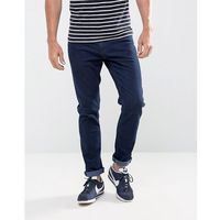 slim fit jeans in washed blue rinse - blue, Ldn dnm