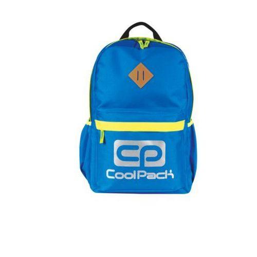 Plecak młodzieżowy CoolPack Neon niebieski, kolor niebieski