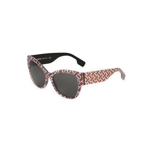 Burberry okulary przeciwsłoneczne czerwony