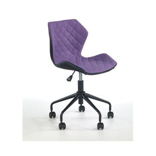 Pikowane krzesło biurowe z czarnym tyłem Matrix