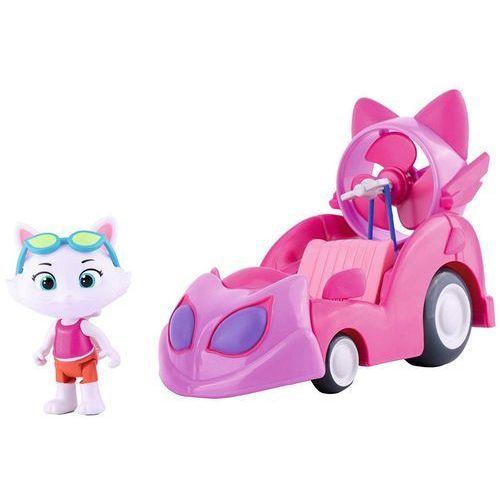 OKAZJA - Figurka milady w kabriolecie 44 koty, 7600180211