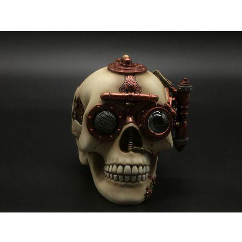Veronese Jasna czaszka - szkatułka steampunk (wu76568aa)