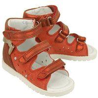 81803 czerwony, obuwie profilaktyczne dziecięce, rozmiary: 21-26 - czerwony marki Bartek
