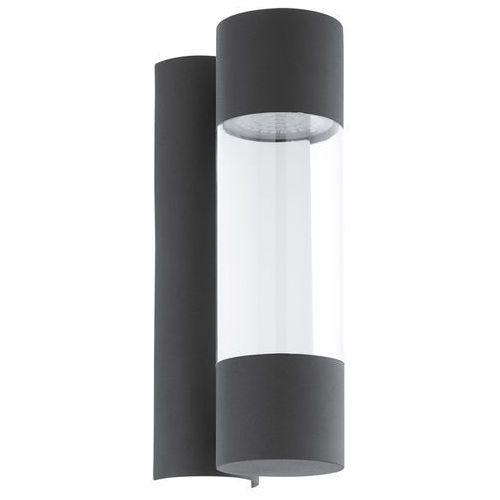 Kinkiet robledo 96014 lampa ścienna 2x3,7w led antracyt marki Eglo