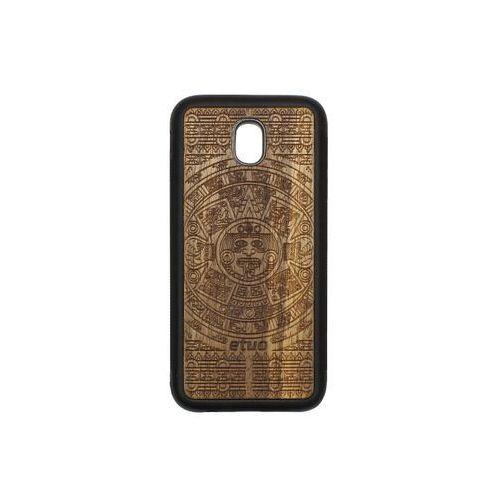 Samsung Galaxy J5 (2017) - etui na telefon Wood Case - Kalendarz Aztecki - limba, ETSM555WOODKAL000