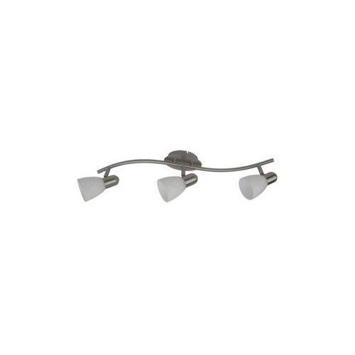 Listwa lampa sufitowa oprawa spot Rabalux Harmony lux 3x40W E14 satyna / biały 6637 (5998250366371)