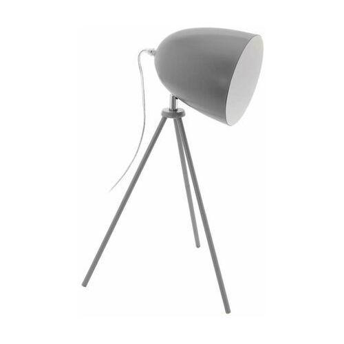 Eglo Lampa stołowa trójnóg szara-vintage 1xe27 (9002759330941)