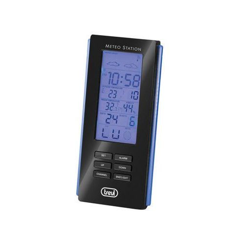 Stacja pogody Trevi ME3108RC + czujnik zewnętrzny