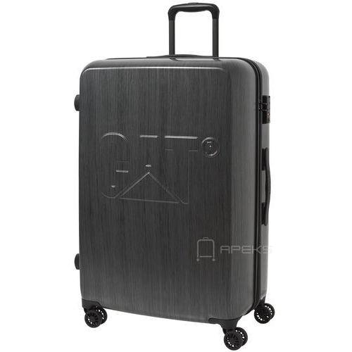cat-d duża walizka na kółkach 75 cm cat / grafitowa - brushed steel marki Caterpillar