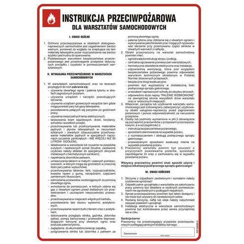 Instrukcja przeciwpożarowa dla warsztatów samochodowych