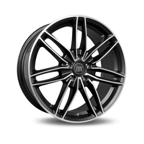 Felga RACER EDITION SATIN BLACK MACHINED FACE 7.5x17 5x112 ET42