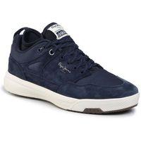 Sneakersy PEPE JEANS - Slate Pro PMS30571 Navy 595, w 7 rozmiarach
