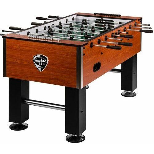 Tuniro ® Profesjonalne brązowe piłkarzyki stołowe 110 kg - brązowy (20060242)