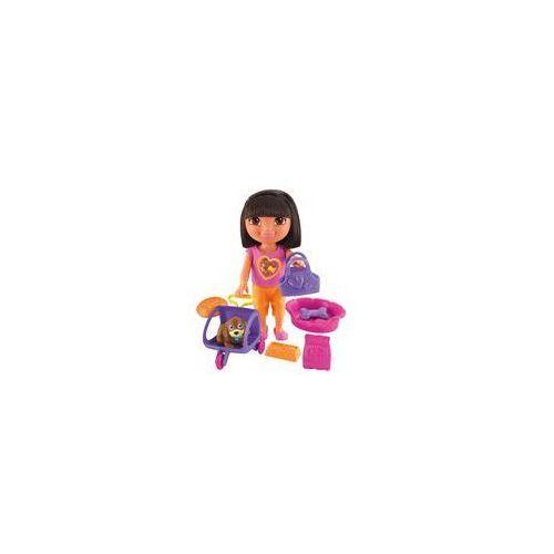 Dora z pieskiem Fisher Price