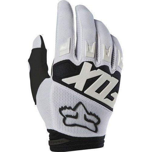 Fox Dirtpaw Rękawiczki Mężczyźni, white M 2019 Rękawiczki długie (0191972048784)