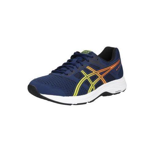 ASICS Buty do biegania 'Gel-Contend 5' ciemny niebieski / żółty / pomarańczowy (4550214962411)