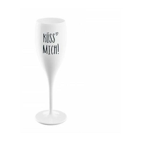 Kieliszek do szampana Kuess Mich biały KOZIOL (4002942419045)