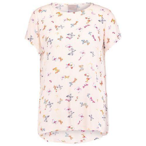 Vero Moda VMBUTTERFLY Tshirt z nadrukiem buttercream, wiskoza
