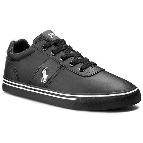 Tenisówki POLO RALPH LAUREN - Hanford A85 Y2140 R0580 W004A Black/Black, kolor czarny