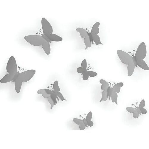 Dekoracja ścienna mariposa szara marki Umbra