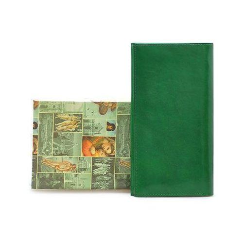 Portfel damski h17 zielony lico marki Barberini's