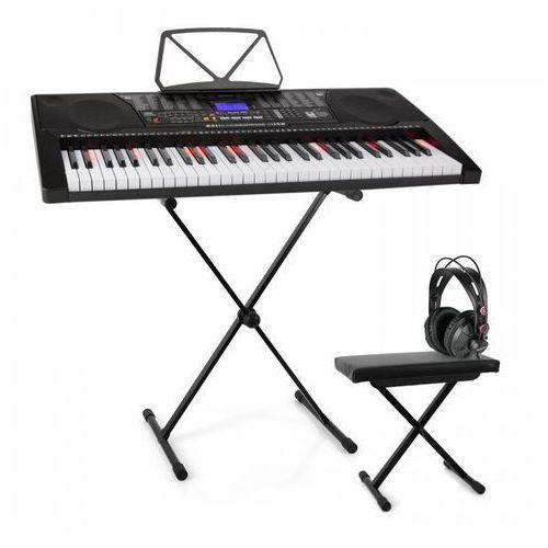 Elektronik-star Schubert etude 225 keyboard do nauki gry zestaw ze słuchawkami stojakiem i ławką (4260528643998)
