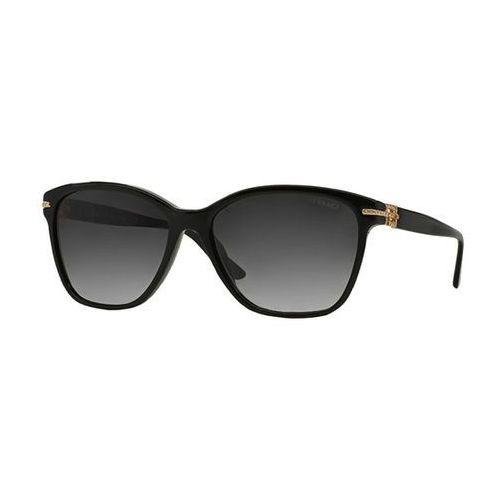 Okulary słoneczne ve4290ba bright crystal asian fit gb1/8g marki Versace