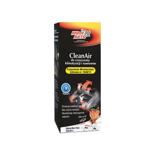Moje auto Spray clean air odświeżacz klimatyzacji wentylacji i wnętrz samochodowych 150ml 19-092 !odbiór osobisty kraków! lub wysyłka)