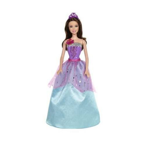 super księżniczka fioletowa filmowa lalka 3+ marki Barbie