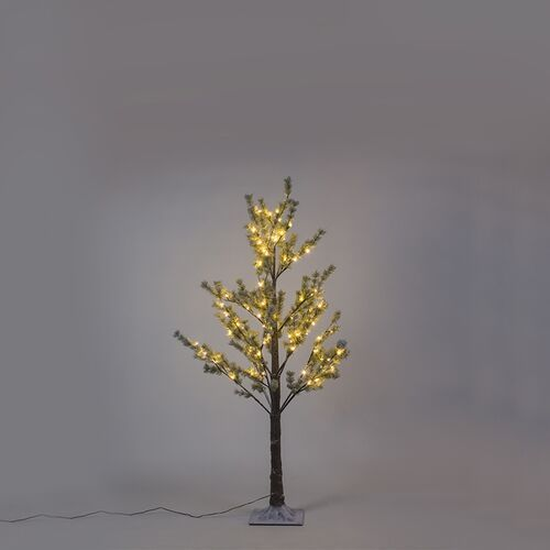 Drzewko bozonarodzeniowe sosna snow led barwa cieplo biala 1,5 m marki Lucide
