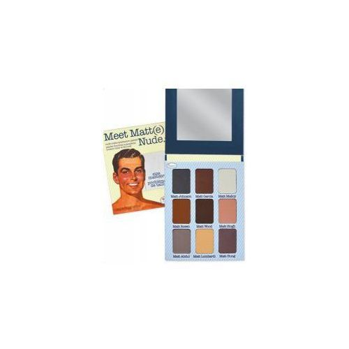 The balm , meet matte(e) nude, paleta cieni, 21,6g