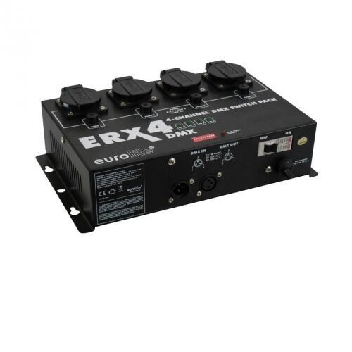 erx-4 dmx switch pack - 4 kanałowy przełącznik dmx marki Eurolite