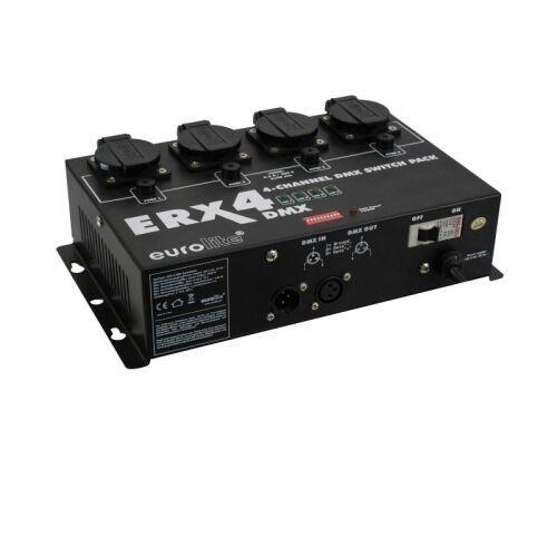 OKAZJA - erx-4 dmx switch pack - 4 kanałowy przełącznik dmx marki Eurolite