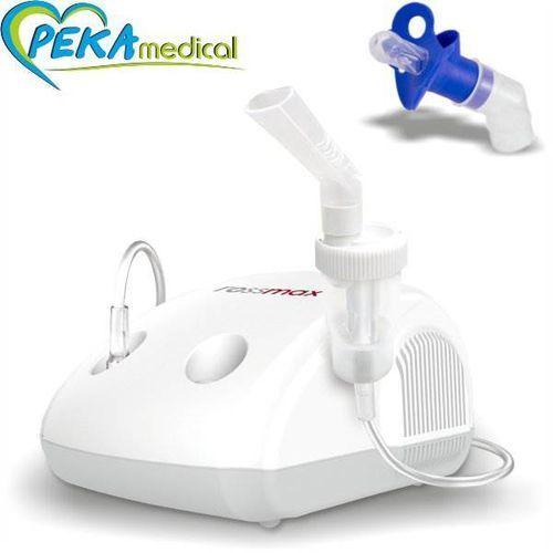 Inhalator tłokowy - Rossmax NE 100 ( P, Ciągła ) - Smoczek Gratis (4715139600200)