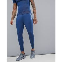 super skinny joggers in 2 tone jersey - blue marki Asos 4505