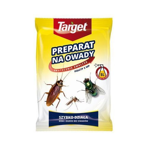 Polcyp 5 WP 25 g środek zwalczający muchy, komary, mrówki, karaluchy i inne owady biegające i latające, 22804246