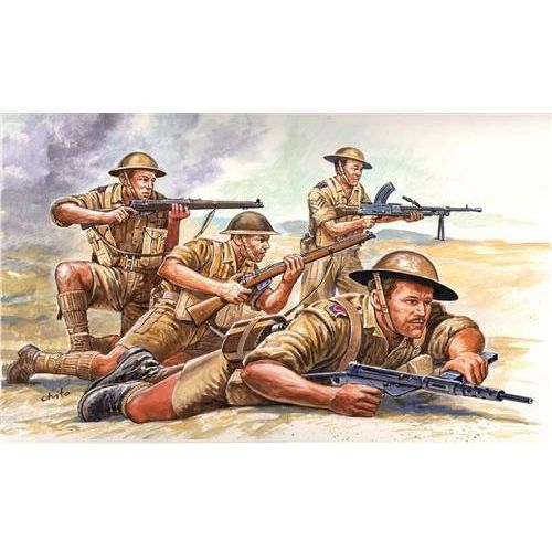 Italeri Brytyjska 8ma armia (ii wś)  6077
