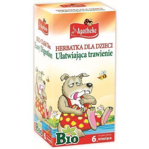 OKAZJA - bio herbatka dla dzieci ułatwiająca trawienie, 20 torebek marki Apotheke
