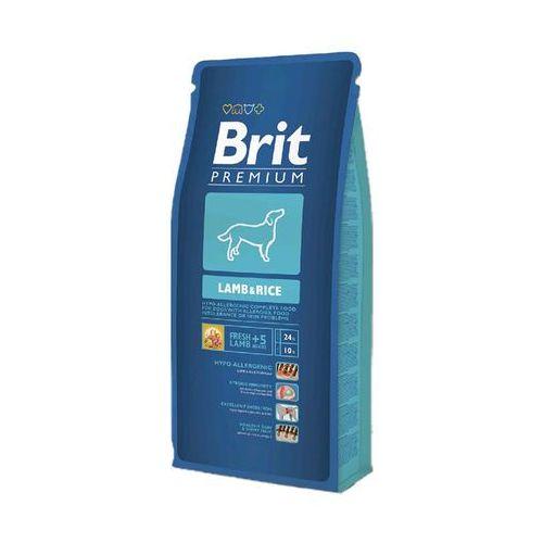 premium lamb & rice 1kg marki Brit