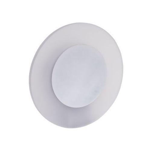 Kinkiet lampa ścienna ring 5833102 szklana oprawa led 9w okrągła biała marki Spotlight